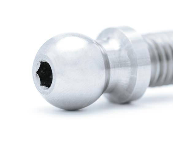 Bruker und Guenter Automotive Kugelzapfen für Scheibenwischerantrieb