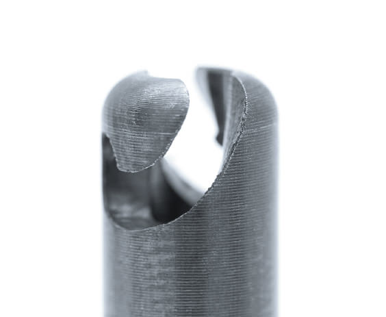 Bruker und Guenter Gerätetechnik Bajonettverschluss für Gehäusedeckel